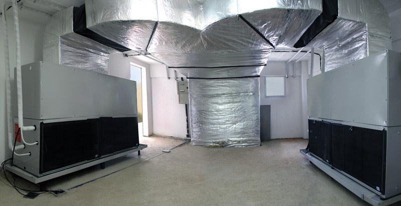 sistema interno de climatização desenvolvido pela thermocenter